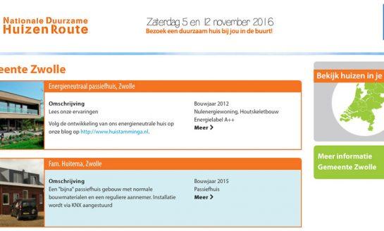 Ga mee met de thematour 'Duurzame jaren '60 woning' in Zwolle