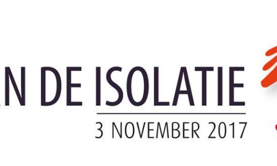 3 november de Dag van de Isolatie