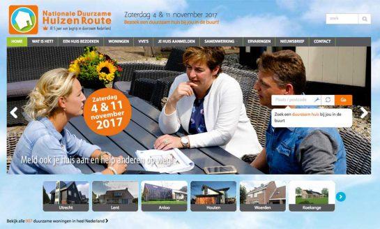 Duurzame Huizen Route zaterdag 4 en 11 november 2017