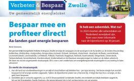 Straataanpak Zwolle AA-landen 30 januari 2018