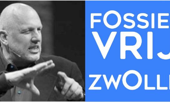 24 januari 2018 Kick Off Event FossielVrij Zwolle met Ruud Veltenaar