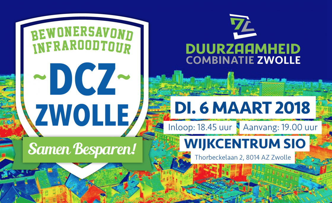 Bewonersavond DCZ Zwolle op 6 maart