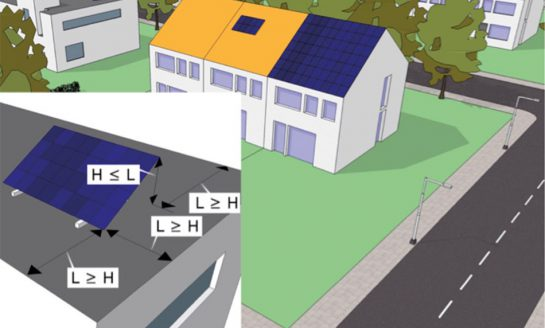 Zonnecollectoren en zonnepanelen