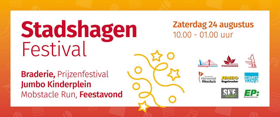 Stadshagen sluit zomervakantie bruisend af met Stadshagenfestival