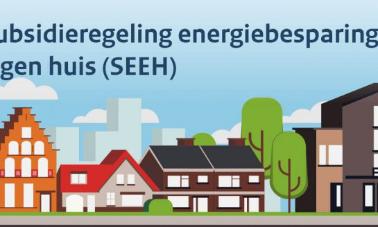 Nieuwe subsidieregeling voor woningisolatie (SEEH)