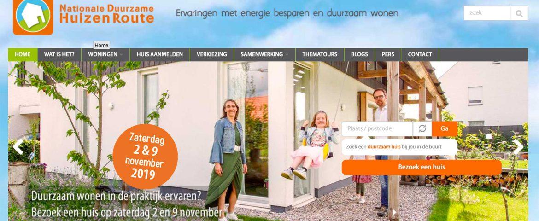 Gemeente Zwolle doet mee aan de Nationale Duurzame Huizen Route op 2 en 9 november