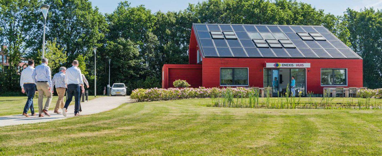 Het Enexis Huis Zwolle is het groenste huis van Zwolle